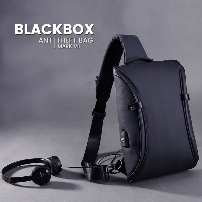 Tas Selempang Pria Anti Theft Anti Maling Vernyx Mark VII The Blackbox - VERNYX