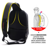 Tas Selempang Bahu Pria Anti Theft Vernyx Artic Hunter Envenom Bag