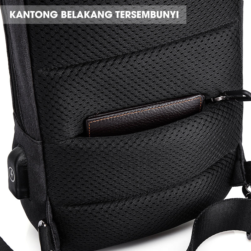 Tas Selempang Bahu Pria Vernyx Traction Fit - VERNYX