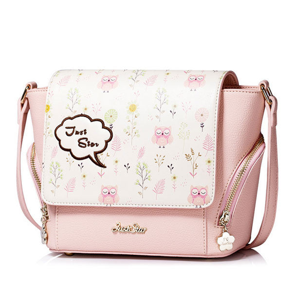 Tas Selempang Wanita Just Star Owl Girly - VERNYX
