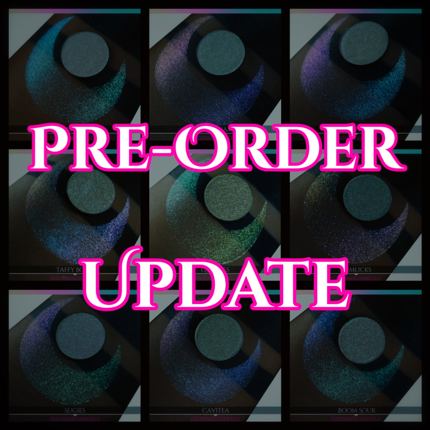 Sugar Drops Collection Pre-Order Update