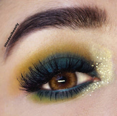 Courtney Pressed Matte as transition eye shadow. Photo taken by @loodevibeauty on Instragram