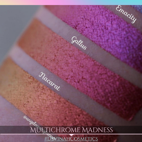 Multi-chrome eyeshadow multichrome eye shadow