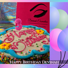 Devinah Cosmetics Turns 3. Happy Birthday to you!
