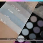 Icy Betch Dupe Palette Blue and Green shimmer and matte eyeshadow collection