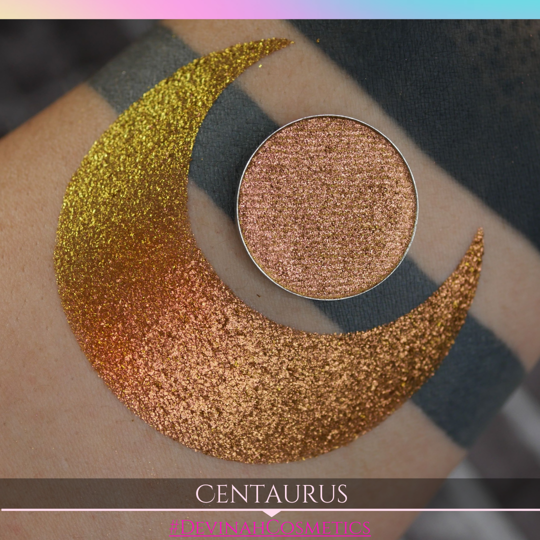 Centaurus Multichrome Duochrome Red Bronze Yellow Gold Eyeshadow trichrome eye shadow
