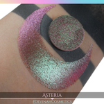 Asteria Glitter Multichrome Duochrome Color Morph Pressed Pigment Eyeshadow