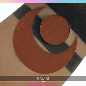 tan brown matte eyeshadow