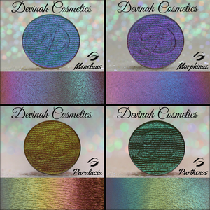 Multichrome eyeshadow collection color morph eye shadow
