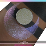 Cavitea Sugar Drops purple red orange yellow sparkle eyeshadow
