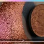 Cygnus Glitter Multichrome Duochrome Color Morph Pressed Pigment Eyeshadow