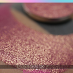 pink rose gold duochrome shimmer eyeshadow