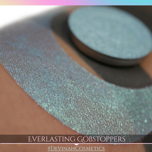 Everlasting Gobstoppers Glitter Multichrome Duochrome Color Morph Pressed Pigment Eyeshadow