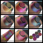 Duochrome Multichrome Eyeshadow Color Morph Shifting Pigments