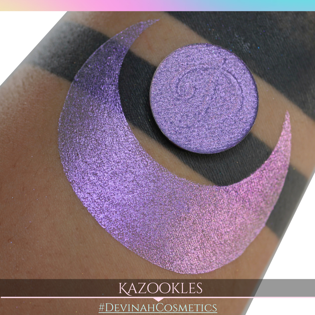 Kazookles Glitter Multichrome Duochrome Color Morph Pressed Pigment Eyeshadow