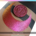 Magellanic Glitter Multichrome Duochrome Color Morph Pressed Pigment Eyeshadow
