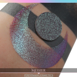 Messier Glitter Multichrome Duochrome Color Morph Pressed Pigment Eyeshadow