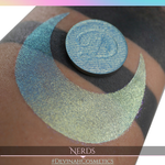 Nerds Glitter Multichrome Duochrome Color Morph Pressed Pigment Eyeshadow