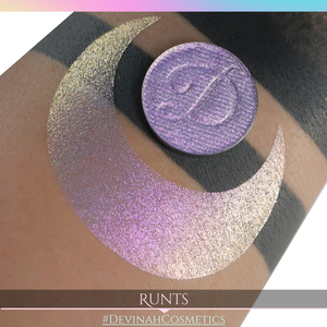 Runts Glitter Multichrome Duochrome Color Morph Pressed Pigment Eyeshadow