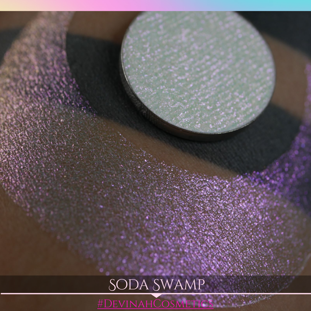 Soda Swamp Sugar Drops sweet and delicious sparkling glittery eyeshadow collection