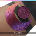 Starfire Glitter Multichrome Duochrome Color Morph Pressed Pigment Eyeshadow