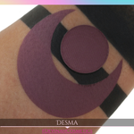 Burgundy plum matte eyeshadow