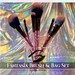 FANTASIA 6 Piece Brush Set + Pixie Pouch