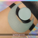 Gray green matte eyeshadow