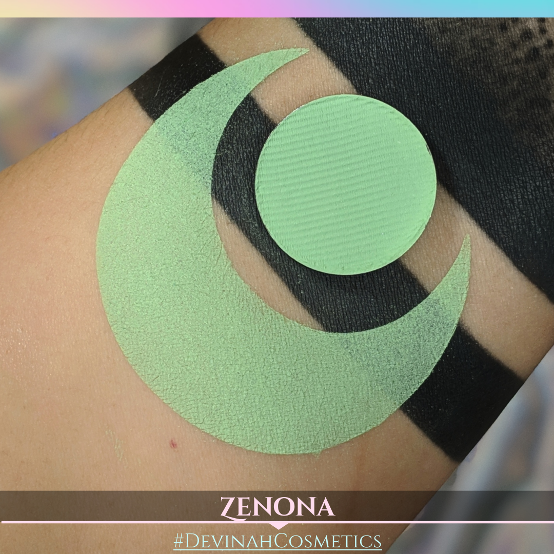 green matte eyeshadow lime green eye shadow