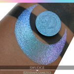 Swudge Glitter Multichrome Duochrome Color Morph Pressed Pigment Eyeshadow