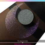 Yumlicks Sugar Drops yellow red pink sparkly eyeshadow
