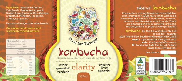 Clarity Kombucha 330ml