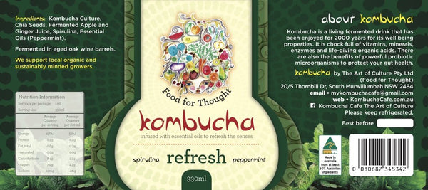Refresh Kombucha 750ml