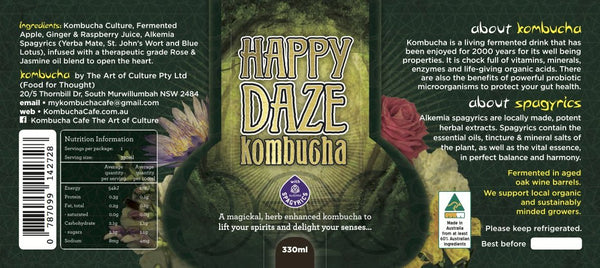 Happy Daze Tea 330 mL