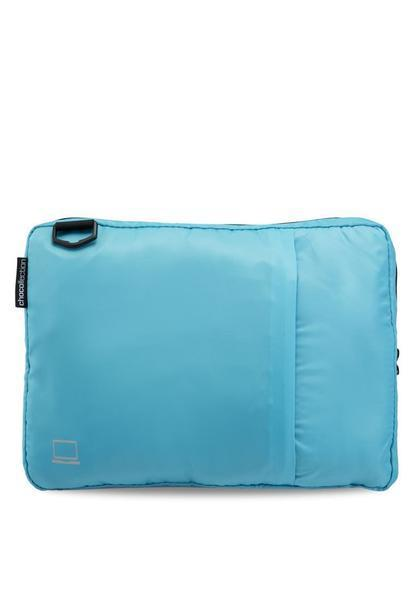 "CHOCOLLECTION Bag 15"" Laptop / Sky Blue CHC Laptop Bag-in-Bag / Shoulder Bag Navy"