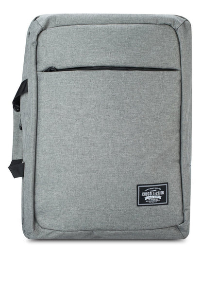 CHOCOLLECTION Bag CHC Mabiz 2-Way Backpack Laptop Bag Charcoal