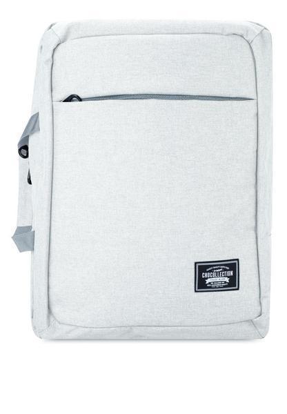CHOCOLLECTION Bag Jazz Grey CHC Mabiz 2-Way Backpack Laptop Bag