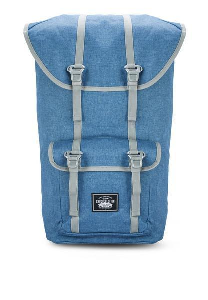 CHOCOLLECTION Bag Stone Blue CHC York All Day Backpack