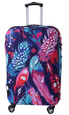 "LM TRAVEL SEASON Goodies 19-22"" Feather Suitcase Cover 羽毛彈力箱套"