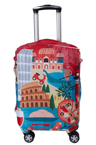 "LM TRAVEL SEASON Goodies 19-22"" Italy Suitcase Cover 義大利彈力箱套"