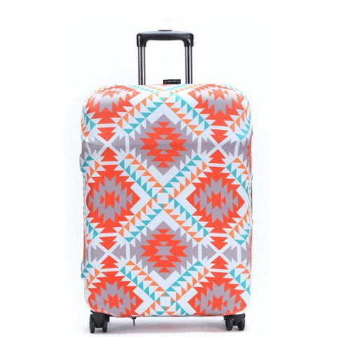 LM TRAVEL SEASON Goodies Bohemian Suitcase Cover