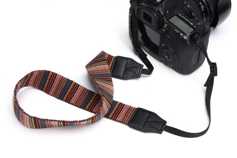 LM TRAVEL SEASON Goodies Camera Strap Rainbow Stripe 相機帶 彩虹間