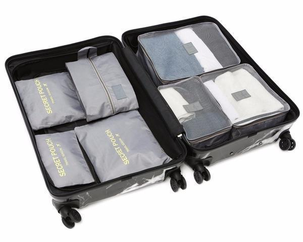 LM TRAVEL SEASON Goodies Grey 灰色 7-In-1 Organizer 7合1 防水旅行箱收納袋