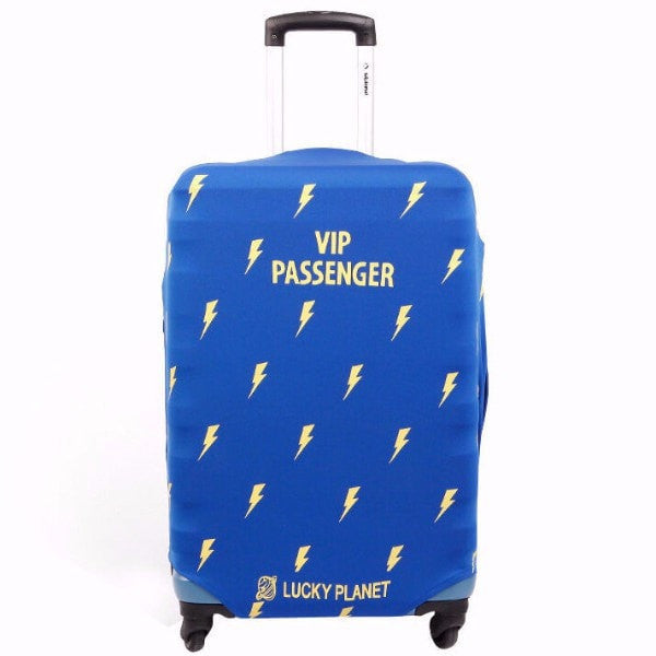 "LM TRAVEL SEASON Goodies Lightning Suitcase Cover 20"" 藍色閃電箱套"