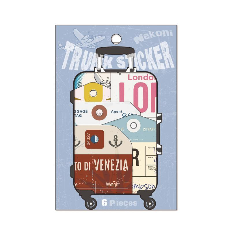 LM TRAVEL SEASON Goodies LON Suitcase Stickers
