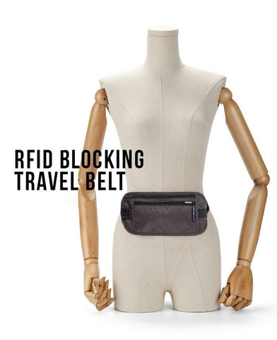 LM TRAVEL SEASON Goodies RFID Blocking Travel Belt 防RFID 貼身防盜腰包