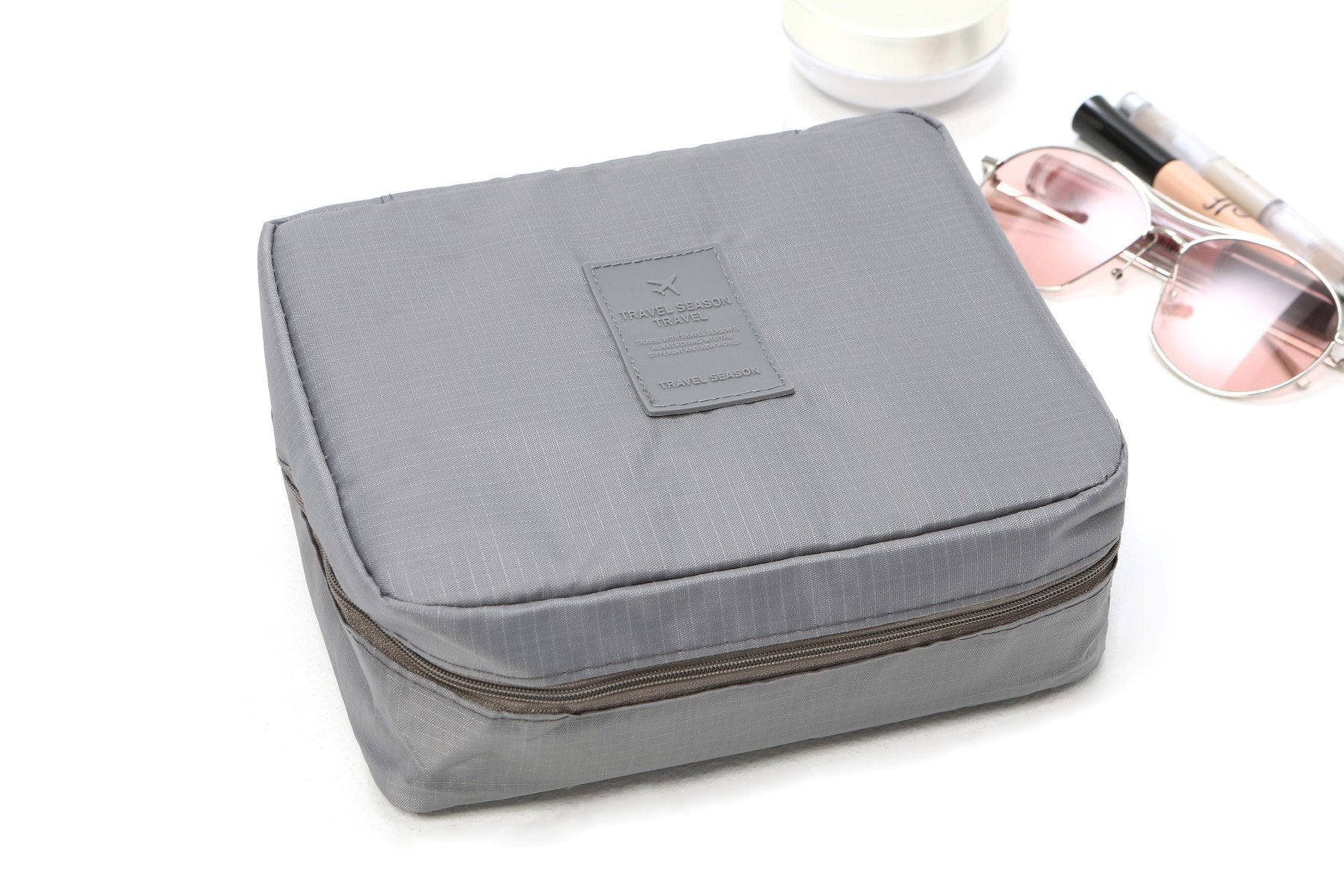 LM TRAVEL SEASON Goodies Wash Bag 手提洗漱包 - 灰色