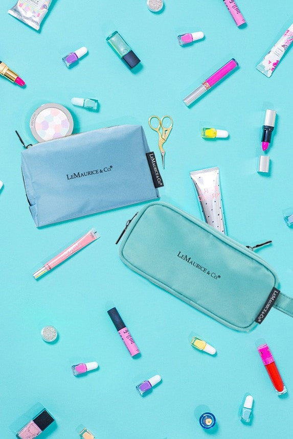 LM TRAVEL SEASON Goodies Wash Bag Sky Blue 洗梳袋