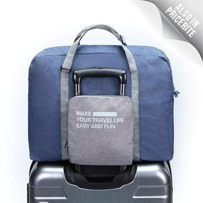 LM TRAVEL SEASON Goodies Water Resistance Foldable Duffle 防水可摺疊式旅行袋深藍