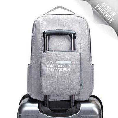 LM TRAVEL SEASON Goodies Water Resistance Foldable Travel Backpack 防水摺疊旅行背包灰色
